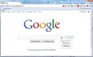 google enabled speech