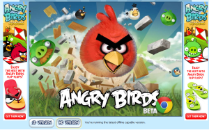 angry birds crash chrome version